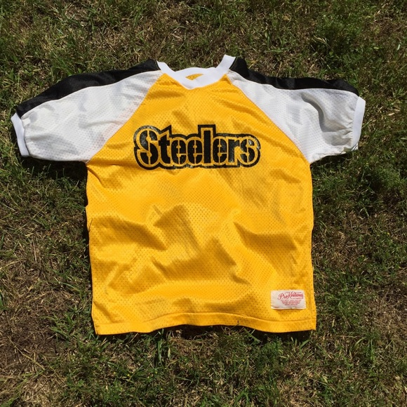 promo code 9e07c 50dae Vintage Steelers Jersey Shirt